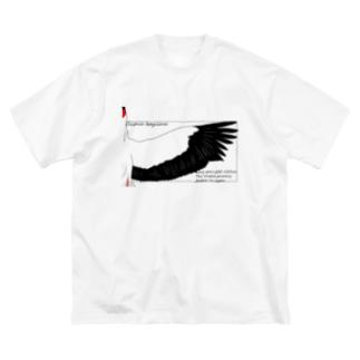 Ciconia boyciana Big silhouette T-shirts
