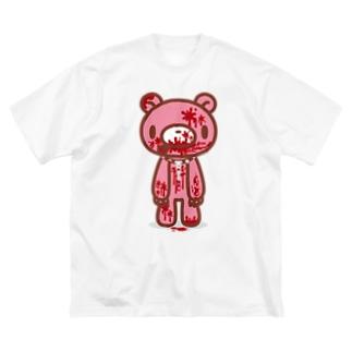 【各20点限定】いたずらぐまのグル〜ミ〜(12)fullbloody Big silhouette T-shirts