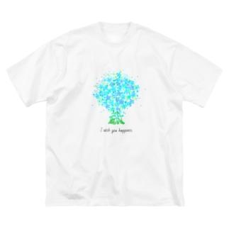 ブルースター Big silhouette T-shirts