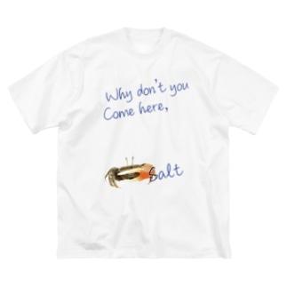 シオマネキ Big silhouette T-shirts