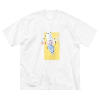 ちっちの鳳凰 Big silhouette T-shirts