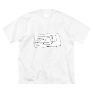ちっちのぶーたー Big silhouette T-shirts