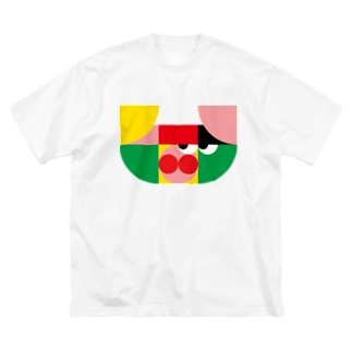 ブタくん Big silhouette T-shirts