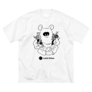 CAFEKiitosの【CAFE Kiitos × Mika Itoh】シリーズ vol.4 Big silhouette T-shirts