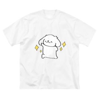 輝くはっちゃん Big silhouette T-shirts