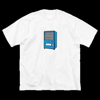 チョコリングボーイのお店の自動販売機 / type-D Big silhouette T-shirts