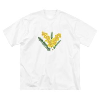 ミモザ🌿mimosa Big silhouette T-shirts