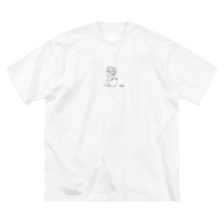 nekonoago0815のいいこをやめたい Big silhouette T-shirts