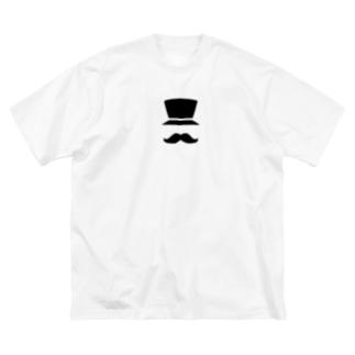 素敵な男爵 Big silhouette T-shirts