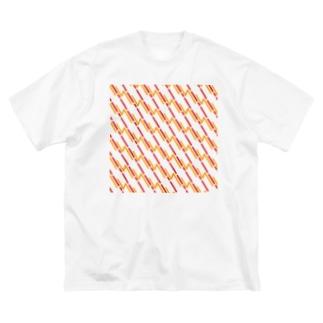Ⅱ:STORM Big silhouette T-shirts