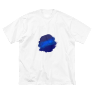 倉庫ナンバーIT6の星空 Big silhouette T-shirts