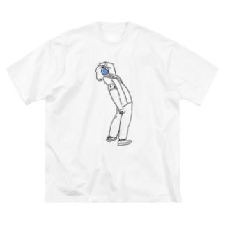 soysio014 Big silhouette T-shirts
