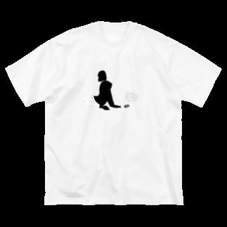 ℛest(りすと)の君を待つ午前1時前 Big silhouette T-shirts