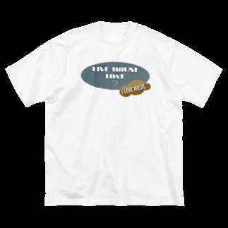 happymoonkobeのらいぶはうす♡ Big silhouette T-shirts