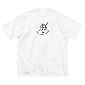 izumi_salonのCUP Big silhouette T-shirts
