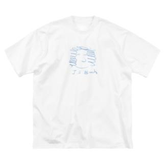 バッハ J.S.Bach Big silhouette T-shirts