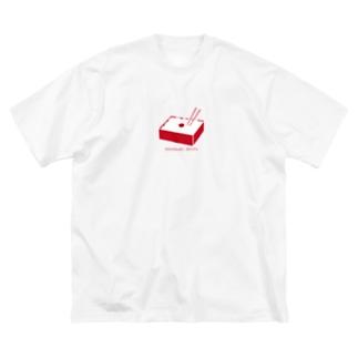 日の丸弁当 Big silhouette T-shirts