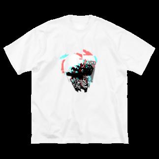 色々色々色々のVIVID JELLY FISH Big silhouette T-shirts