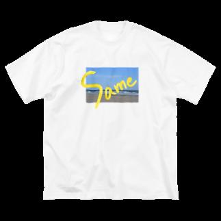 〰m(ウェーム)の同じ Big silhouette T-shirts