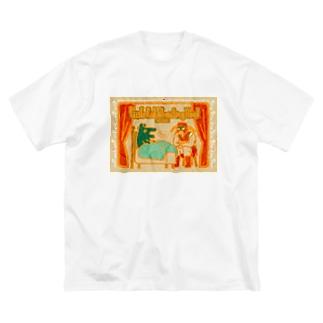 エピックヒーロー Big silhouette T-shirts