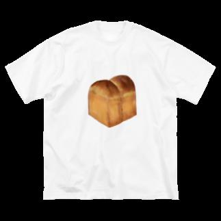 どんぶり ブラザーズ【ドンブラ】の食パン Big silhouette T-shirts
