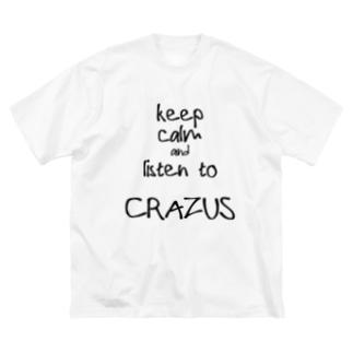 CRAZUS MessageT Big Big silhouette T-shirts