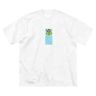 うさぎだぴょん Big silhouette T-shirts