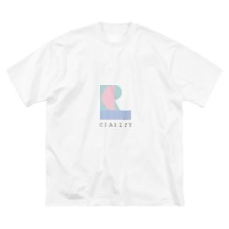 シニフィアン Big silhouette T-shirts