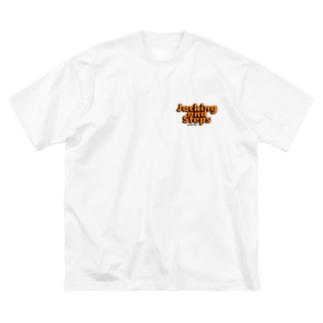 HOUSE DANCE MANIAのJACKING AND STEPS Double Print Big T-shirts