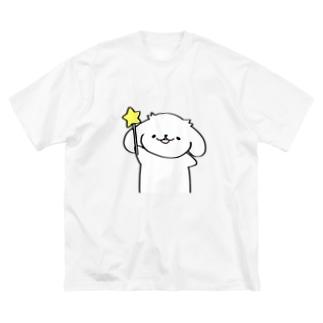 魔法かけるはっちゃん Big silhouette T-shirts