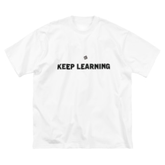 KEEP LEARNING 2 Big silhouette T-shirts