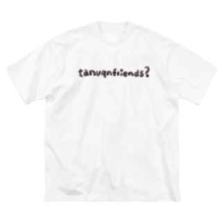 tanuqnfriends? Big silhouette T-shirts