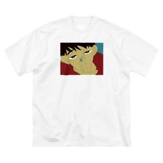 罪と罰 Big silhouette T-shirts