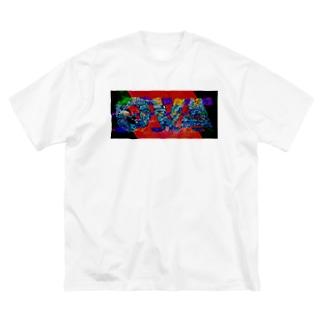 OVA_2020 白ボディ Big Silhouette T-Shirt