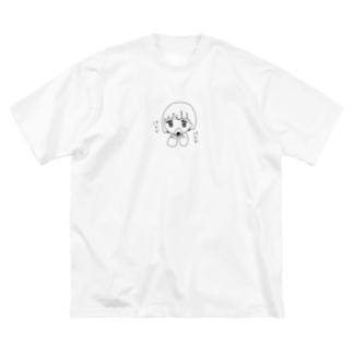 marunomaruのおむすびおいしい Big silhouette T-shirts