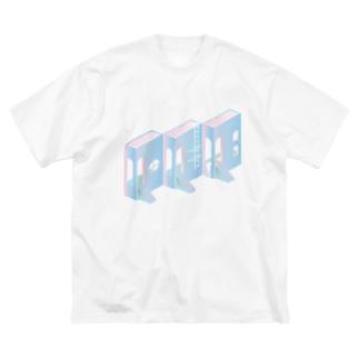 バカンス Big silhouette T-shirts