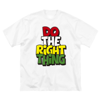 tnckのドゥ・ザ・ライト・シング Big silhouette T-shirts