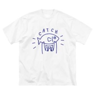 キャッチ Big silhouette T-shirts