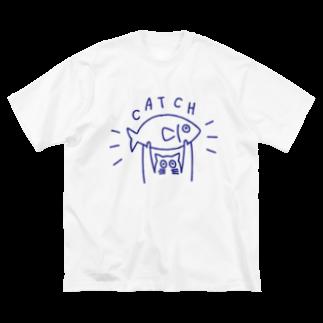 tnckのキャッチ Big silhouette T-shirts