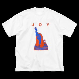 SG__のJOYその2 Big silhouette T-shirts