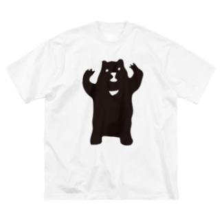 つきのわ Big silhouette T-shirts