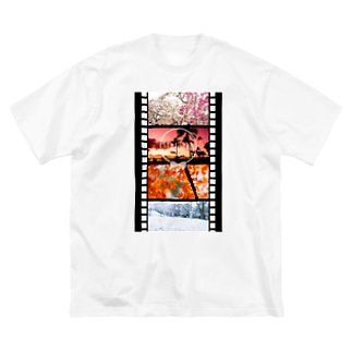 Film in Seasons Big silhouette T-shirts