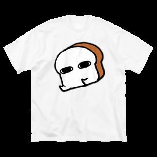 NEKOMATAのしゅごいふわふわであったかくてふわふわでもっちりしてていいにおいでふわふわなパン Big silhouette T-shirts