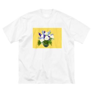 HANABLUE Big silhouette T-shirts
