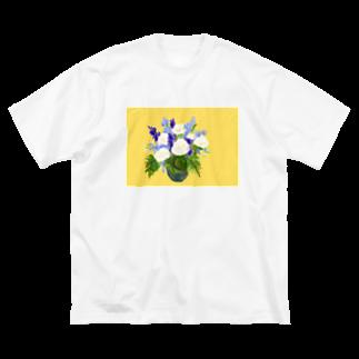 せいせんのHANABLUE Big silhouette T-shirts
