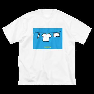 play_imageの【Laundry 1】 otenki Big silhouette T-shirts