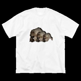 mashico_のしずくちゃん Big silhouette T-shirts