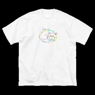 yoonoonのねっこねっこ Big silhouette T-shirts