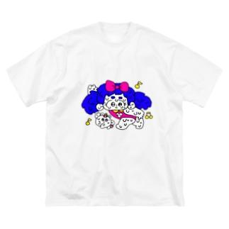 ダンシングペア Big silhouette T-shirts