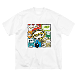 AYAMINのBang! Big silhouette T-shirts